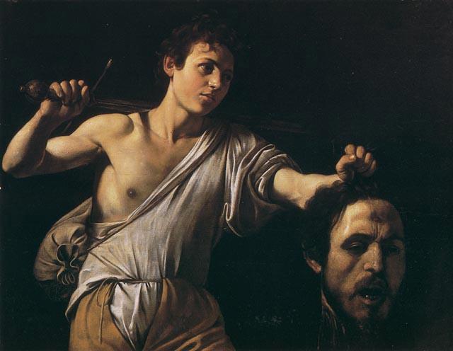 Caravaggio - Davide e Golia